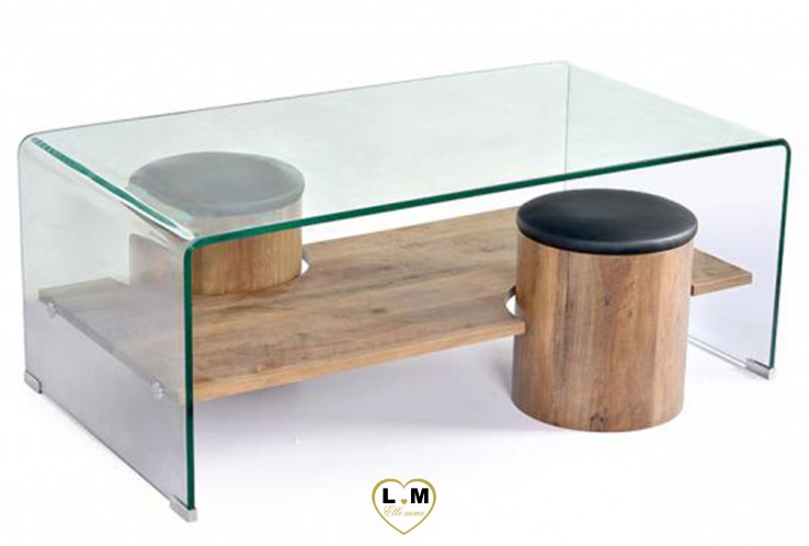 PÉTULA TABLE BASSE