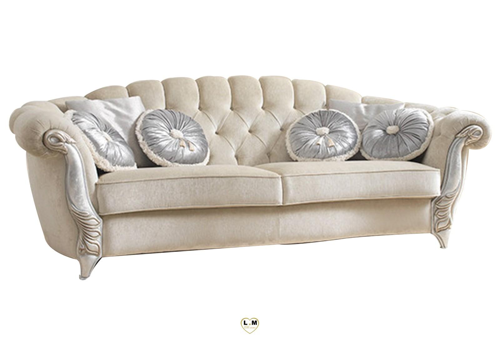 Gilda salon tissus ivoire lignemeuble com for Gildas salon