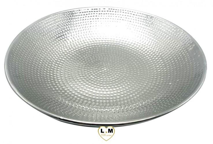 CENTRE DE TABLE DECO TITANIUM PLAT