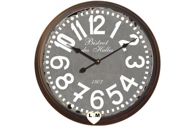 Horloge lignemeuble com for Horloge geante murale