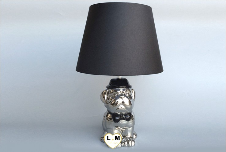 DOGUE SYLVER CERAMIQUE LAMPE
