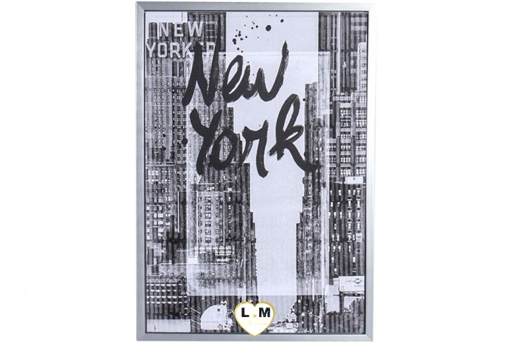 NEW YORK CITY ONE CADRE TOILE