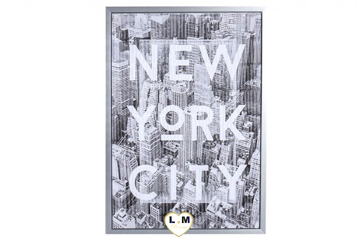 NEW YORK CITY TWO CADRE TOILE