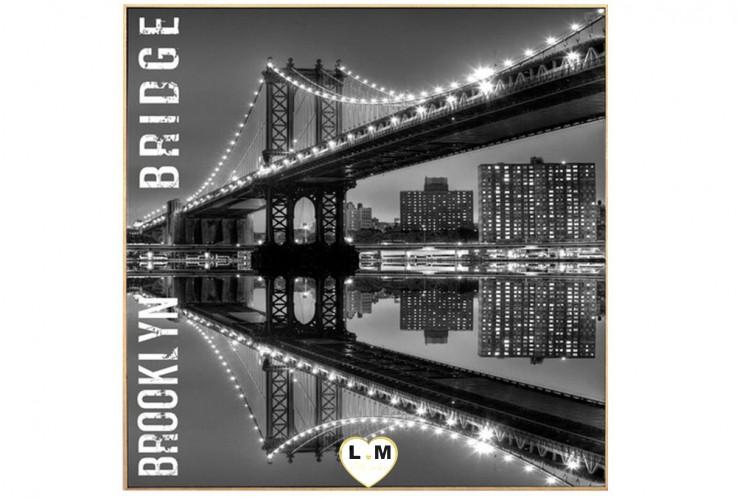 BROOKLYN BRIDGE ONE CADRE TOILE