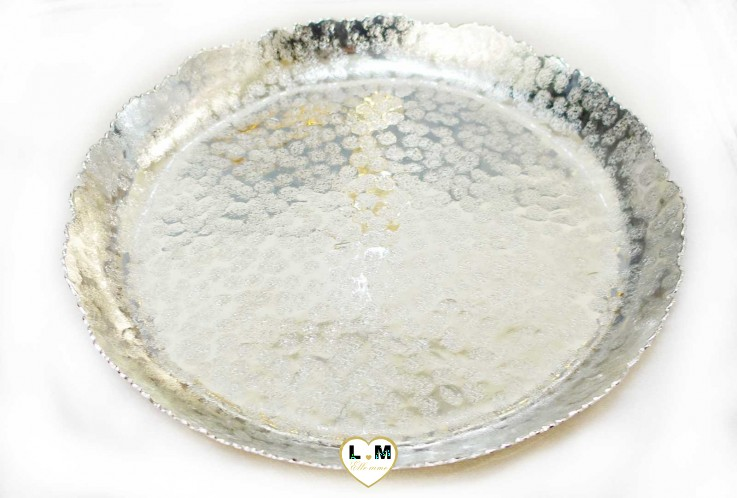 CANDLE PLAT PLATEAU ROND