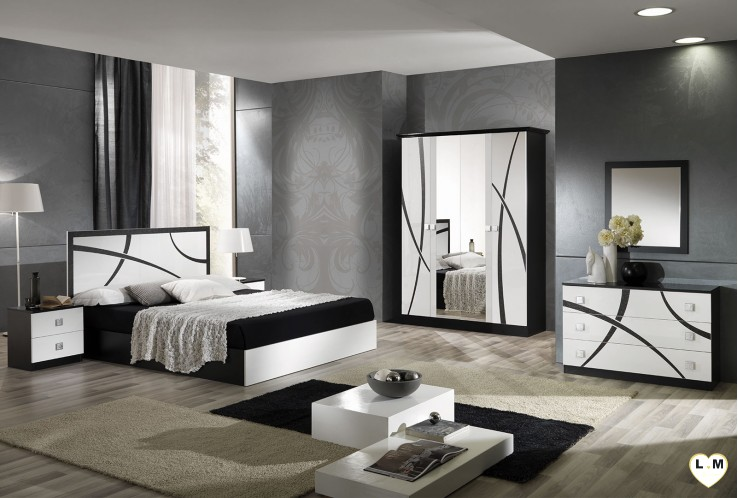 ensemble chambre a coucher lignemeuble com. Black Bedroom Furniture Sets. Home Design Ideas
