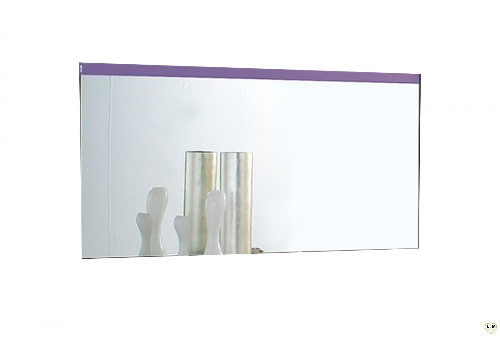 Veronica laque violet et blanc ensemble chambre a coucher for Ensemble de chambre blanc