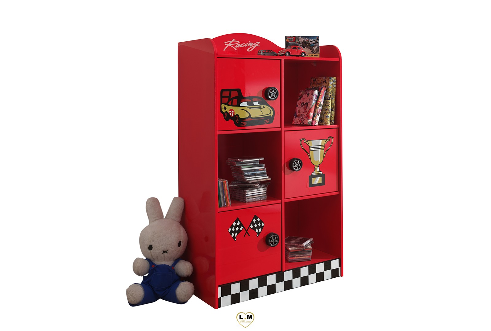 monza bibliotheque chambre enfant lignemeuble com. Black Bedroom Furniture Sets. Home Design Ideas