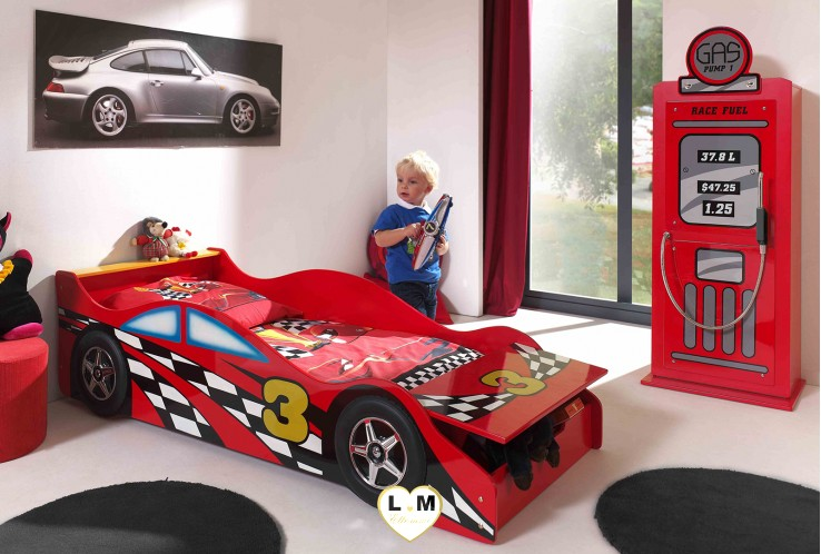 TODDLER RACE LIT VOITURE ENFANT