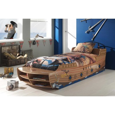 pirate expedition lit bateau enfant lignemeuble com. Black Bedroom Furniture Sets. Home Design Ideas