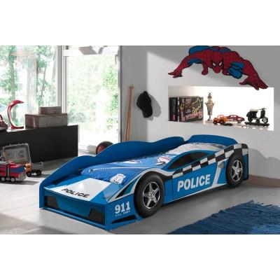 police car lit voiture enfant lignemeuble com. Black Bedroom Furniture Sets. Home Design Ideas