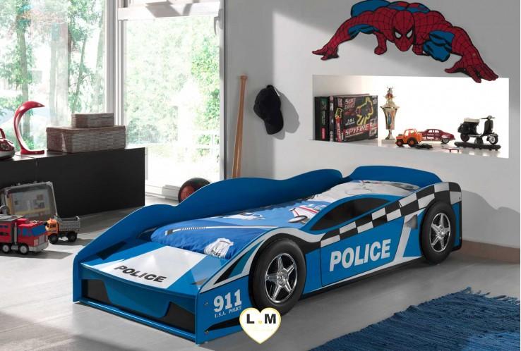 POLICE CAR LIT VOITURE ENFANT