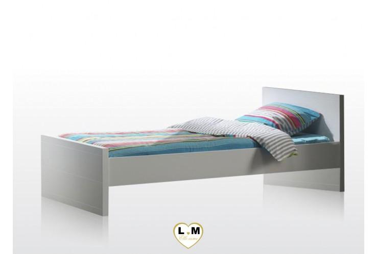 LARAMY CHAMBRE ADO : Le Lit Pour Couchage 120x200 cm