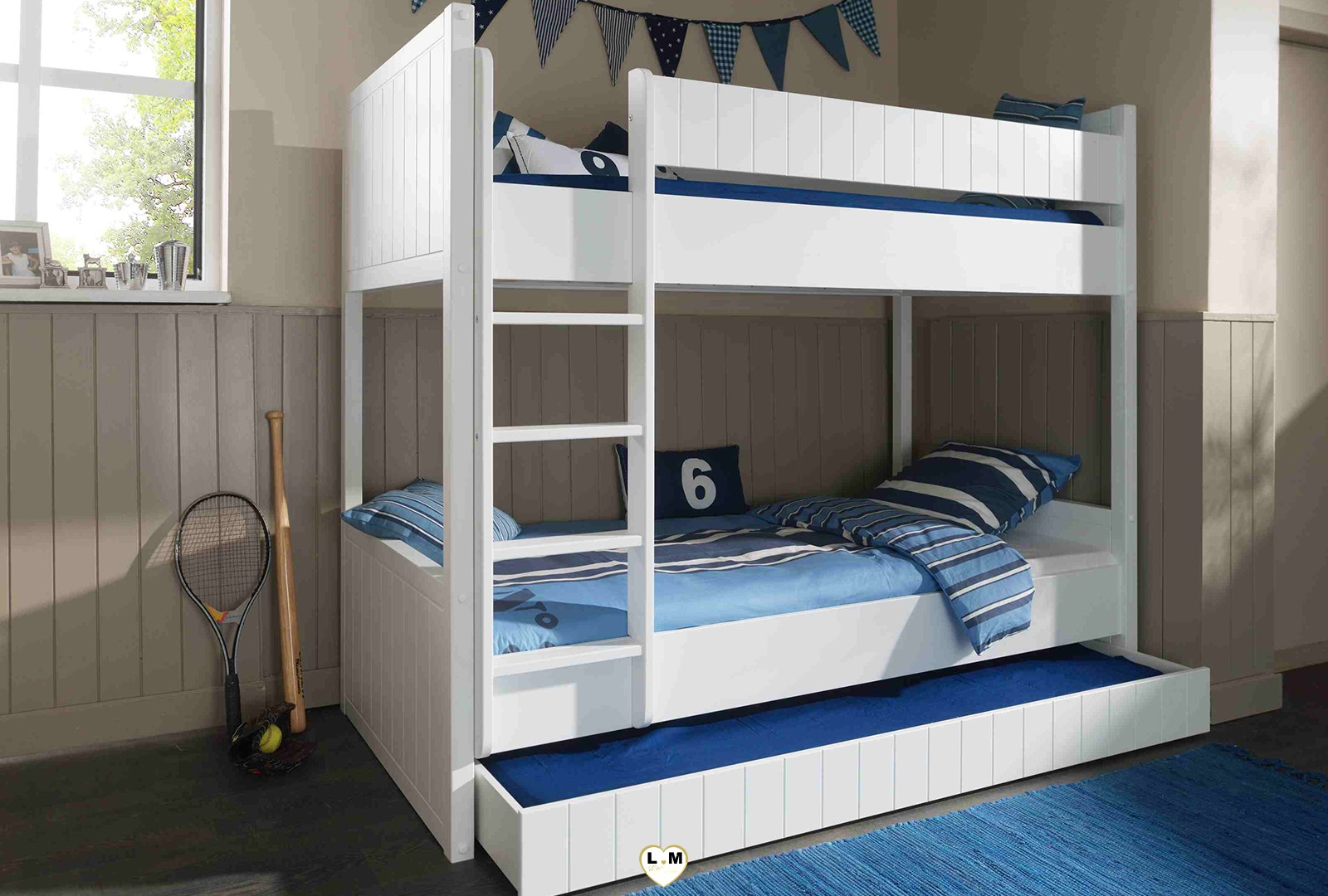 robinson chambre enfant le lit superpose lignemeuble com. Black Bedroom Furniture Sets. Home Design Ideas